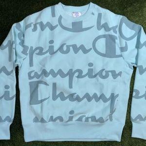 Champion Men's Reverse Weave Allover Print